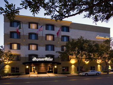 The Mepress Hotel 7766 Fay Ave. La Jolla Ca., 90237