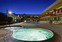 BWRoyal Sun Pool & Spa at Night